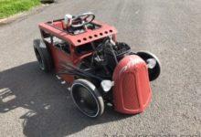 Motorised Pedal car